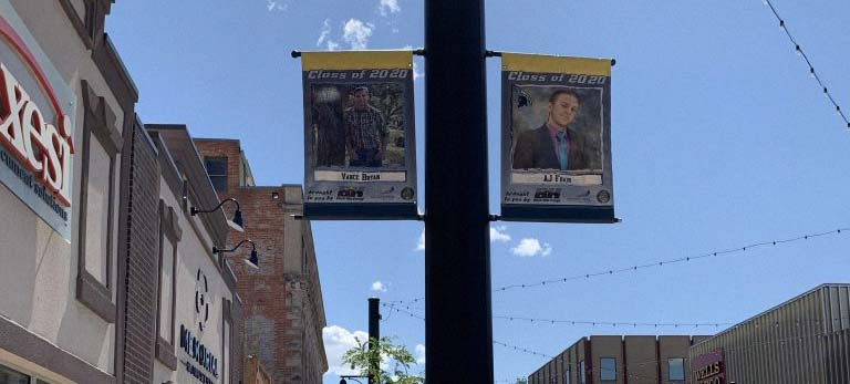 2020 Summer Banners Highlight Local Seniors